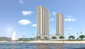 Com lançamento ainda neste ano, o empreendimento de R$ 300 milhões ficará na praia do Tabuleiro, de frente para o mar
