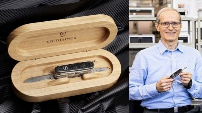 Canivete Victorinox atinge valor de R$ 68.000 em leilão no eBay