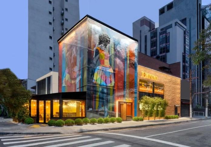 Obras de artistas consagrados são destaque no Jeronimo Burger