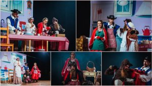 Nova versão de Chapeuzinho Vermelho no Festival de Teatro Infantil