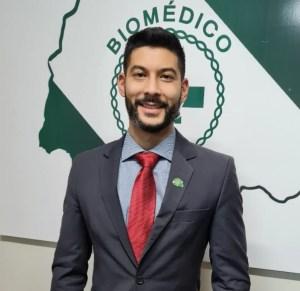 Thiago Massuda, presidente do CRBM6, atua para fortalecer a categoria dos biomédicos