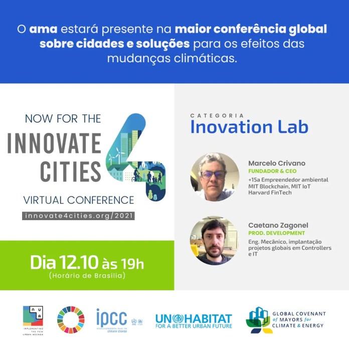 Agentes do Meio Ambiente participa do Innovate4Cities 2021