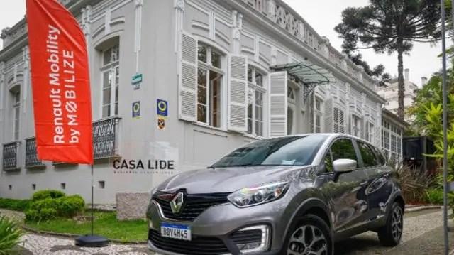 Renault inicia programa de carsharing e locação de curta duração no LIDE Paraná