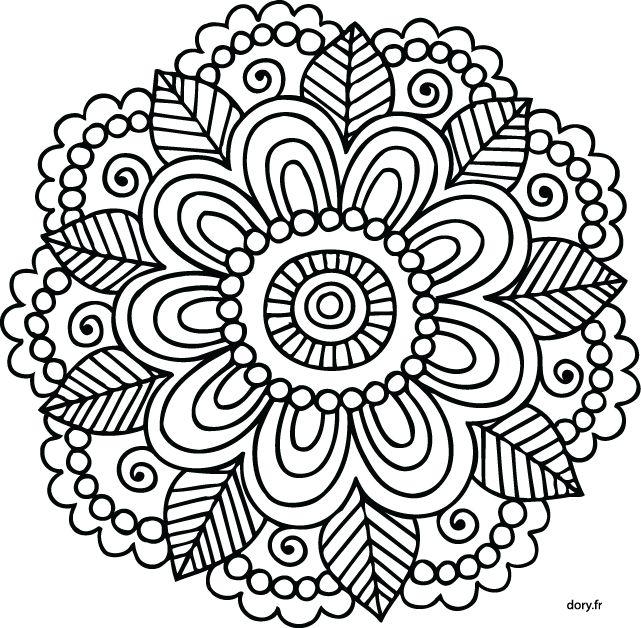 Mandalas Faciles Para Dibujar