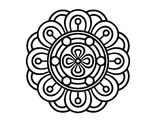 Mandalas Faciles De Dibujar Para Ninos
