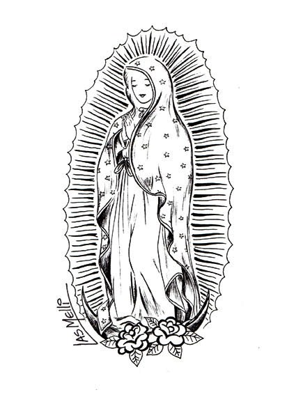 Imgenes De La Virgen De Guadalupe Para Nios Dibujos