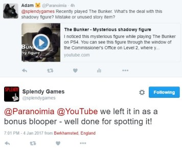 Splendy Games Twitter reply