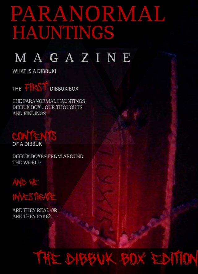The Dybbuk Edition – Paranormal Hauntings Magazine