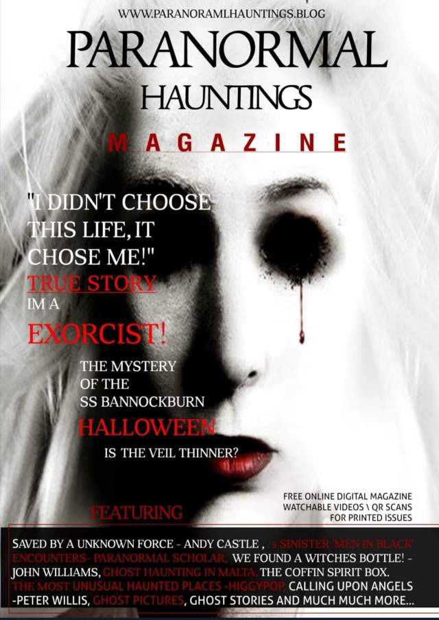 Paranormal Hauntings Magazine ISSUE 8 NOW OUT | FREE to READ!