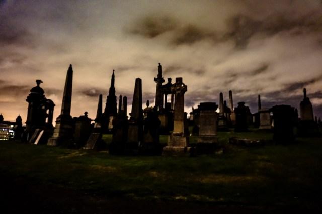 Haunted Glasglow |Glasgows Necropolis and Southern Necropolis