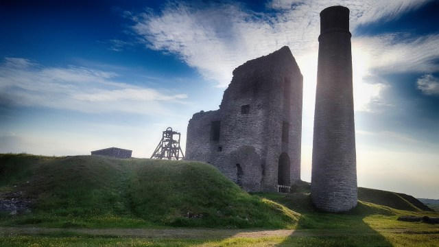 Magpie Lead Mine and the Unforgivable Widow's Curse | Derbyshire