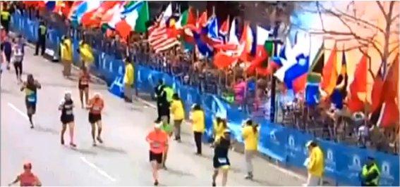 Explosion à Boston: Vidéos