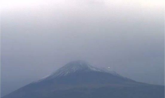 De l'activité ovni autour du Popocatepetl