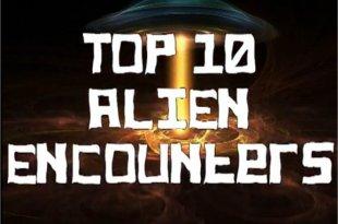Documentaire: Top 10 Alien Encounters