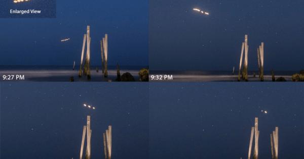 Un astrophotographe prend d'étranges photos