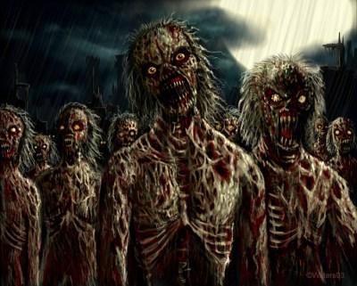 Les États-Unis sont prêts pour une attaque de zombies.