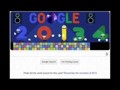 Le logo de Google pour la nouvelle année rend hommage aux illuminatis