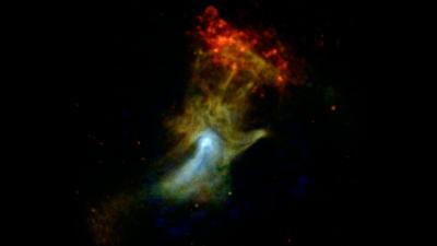 La Main de Dieu photographiée par la NASA