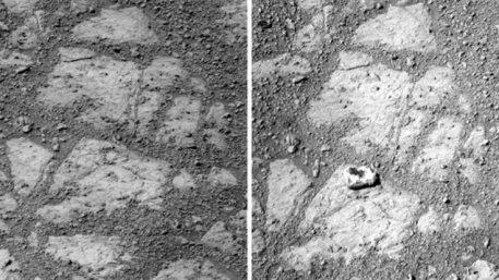 Un « beignet » sur Mars