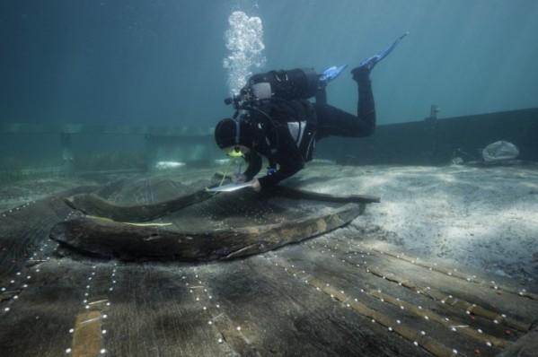 L'épave d'un bateau vieux de 3200 ans retrouvée en Méditerranée