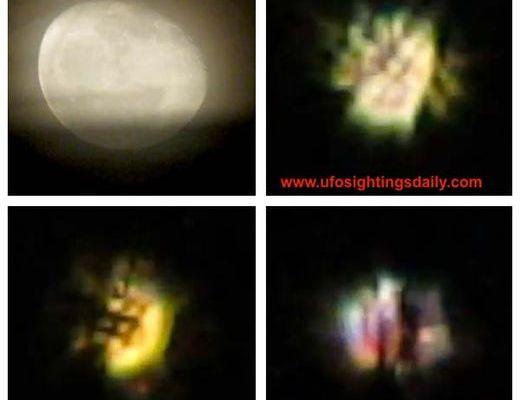 Un Ovni rayonnant filmé par un astronome amateur en Angleterre