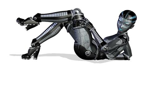 Un Britannique sur six baiserait avec un robot