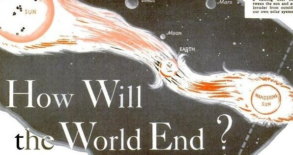 """En 1936, la revue """" Popular Science"""" révélait qu'un second soleil embraserait le monde"""