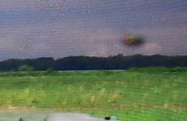 Un OVNI photographié à Saint-Polycarpe, au Québec