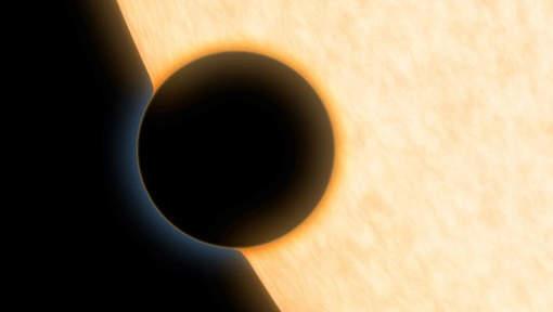 De la vapeur d'eau dans une exoplanète de la taille de Neptune