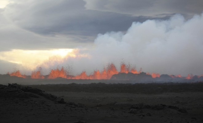 Éruption du Bardarbunga: «La situation est inédite», selon le volcanologue Alain Bernard