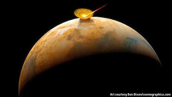 Une comète de 50 km pourrait heurter la Terre le 19 Octobre