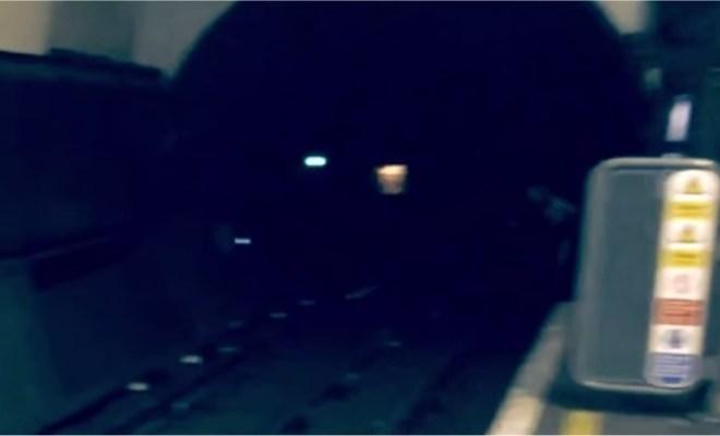 Une nouvelle apparition dans le métro londonien