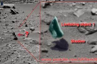Curiosity a photographié un objet qui lévite à la surface de Mars