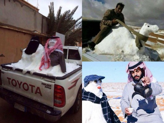 Une fatwa contre les bonhommes de neige