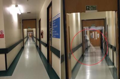 Un fantôme capturé dans un couloir en Angleterre