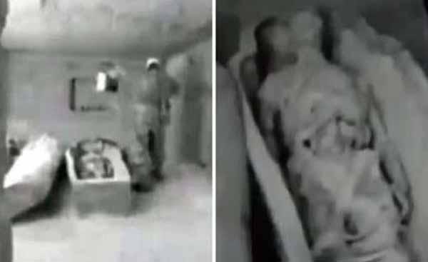 La momie d'un ancien astronaute découverte par le KGB