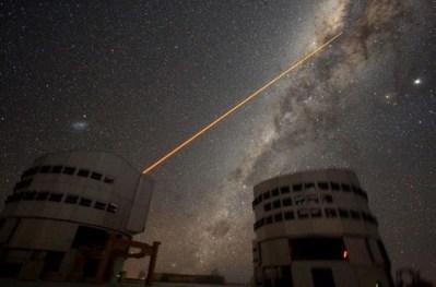 Des extraterrestres détectables par la lumière laser ?