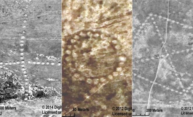 La NASA publie des images d'immenses géoglyphes situés au Kazakhstan et datant de 8 000 ans