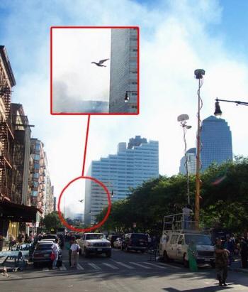 L'homme-Papillon après l'effondrement du World Trade Center?