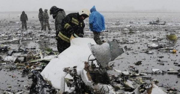 LE CRASH DU BOEING 737 EN RUSSIE A ÉTÉ FILMÉ