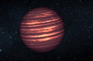 Une naine brune errante découverte non loin du Système solaire
