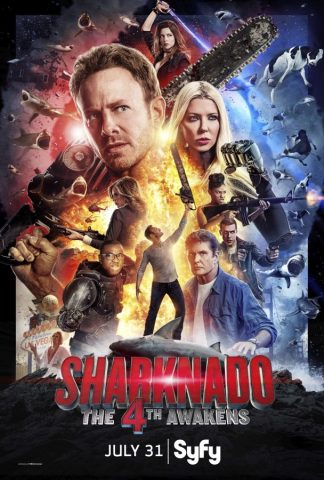 SHARKNADO 4: THE 4TH AWAKENS: UNE BANDE-ANNONCE DÉLIRANTE!