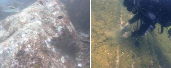 Des ruines âgées jusqu'à plus de 2000 ans découvertes sous l'eau au large des côtes indiennes