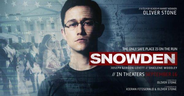 SNOWDEN: LE FILM D'OLIVER STONE PROCHAINEMENT À L'AFFICHE AU QUÉBEC