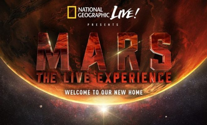MARS: L'HUMAIN COLONISE LA PLANÈTE ROUGE SUR NATIONAL GEOGRAPHIC
