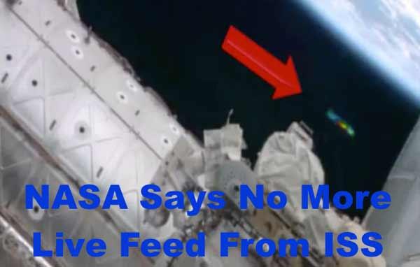 La NASA va couper sa Webcam publique à bord de l'ISS à cause des ovnis