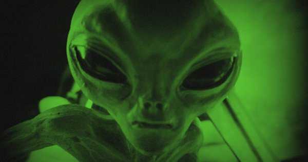 Top 5 des créatures extraterrestres jamais pris en vidéo !