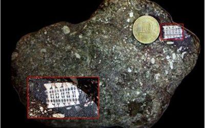 Une puce électronique trouvée dans une pierre vieille de 250 millions d'années