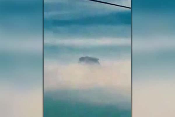Vidéo: Un mystérieux OVNI se camoufle dans un nuage aux Philippines