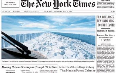 Les médias et l'Antarctique: Ce que l'on ne vous dit pas sur l'iceberg